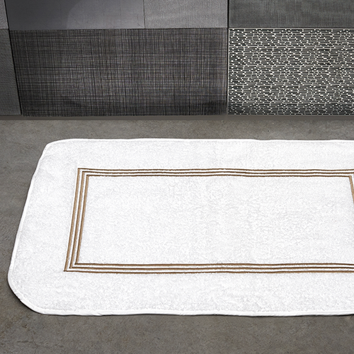 Trilogy Bath Mat by Signoria Firenze - Maisonette Shop