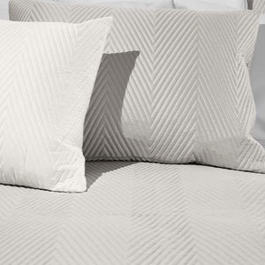 Letizia Quilted Shams by Signoria Firenze - Maisonette Shop