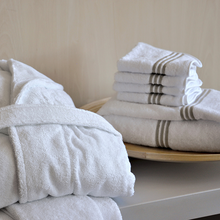 Load image into Gallery viewer, Trilogy Bath Towels by Signoria Firenze - Maisonette Shop