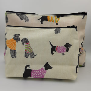 Dogs Cosmetic Bags - Maisonette Shop