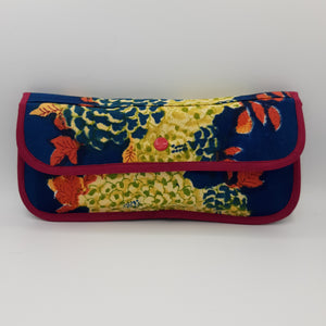 Block Printed Envelope Clutch - Maisonette Shop