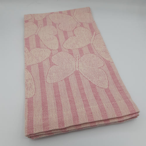 Pink Butterfly Hand Towel - Maisonette Shop