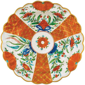 Orange Floral Die-Cut Placemat - Maisonette Shop