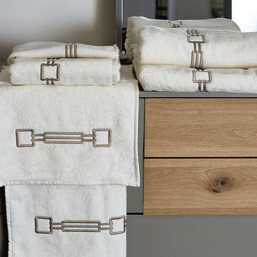 Retrò Bath Towels by Signoria Firenze - Maisonette Shop