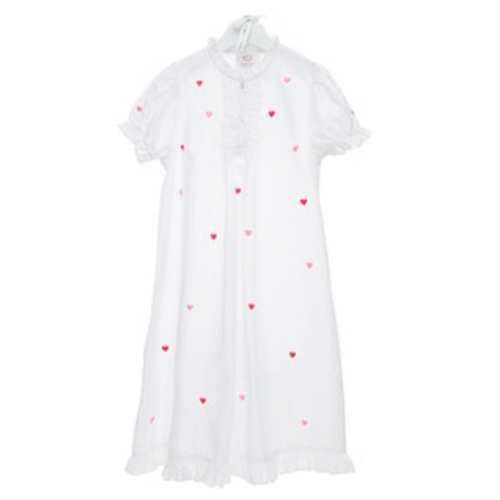 Josie Heart Girls Gown - Maisonette Shop