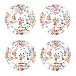 Chinese Garden Watercolor Coasters - Maisonette Shop