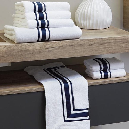 Tivoli Bath Towels by Signoria Firenze - Maisonette Shop