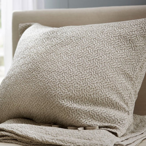 Allegro Platinum by The Purists Decorative Tie Pillows - Maisonette Shop