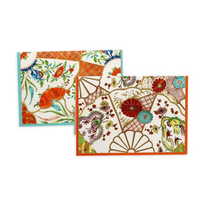 Williamsburg Plates Boxed Note Cards - 6 Note Cards & 6 Envelopes - Maisonette Shop