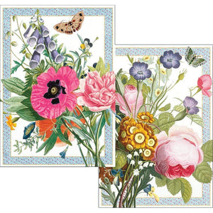 Blossoms and Brooches Boxed Note Cards - 8 Note Cards & 8 Envelopes - Maisonette Shop