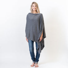 Load image into Gallery viewer, Organic Cotton Travel Poncho - Maisonette Shop