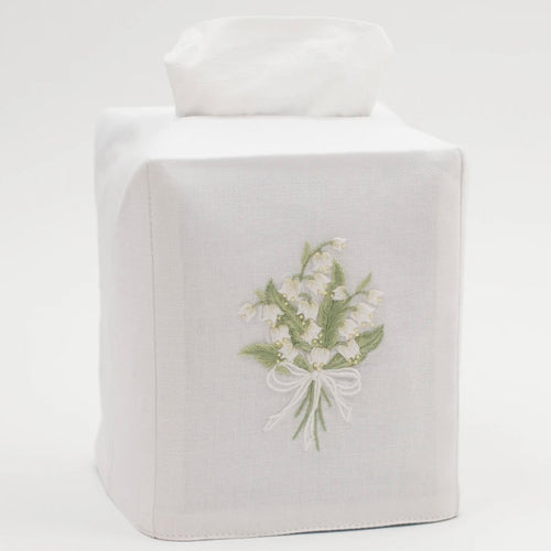 Lily of the Valley Tissue Box Cover