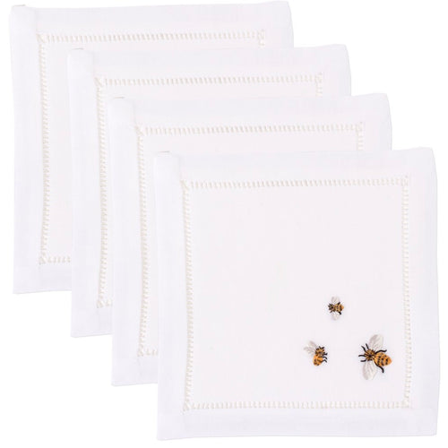 Bees Cocktail Napkins Set