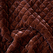 Load image into Gallery viewer, Silk Velvet Quilted Shams - Maisonette Shop