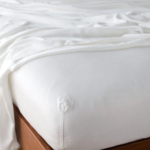 Madera Luxe Fitted Sheet - Maisonette Shop