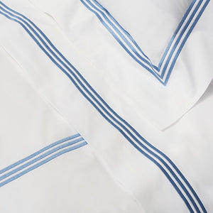 Platinum Percale Flat Sheets by Signoria Firenze