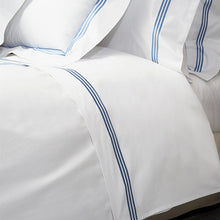 Load image into Gallery viewer, Platinum Percale Flat Sheets by Signoria Firenze
