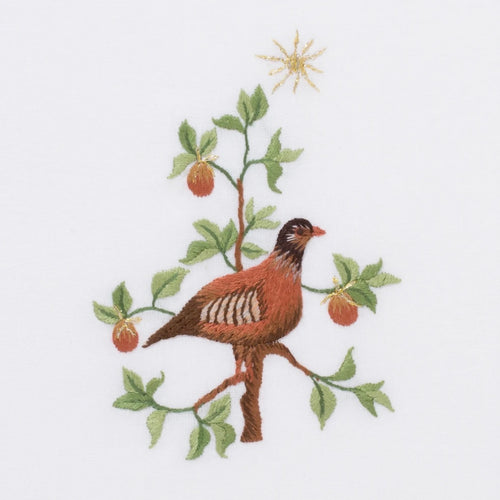 Partridge in a Pear Tree Hand Towel