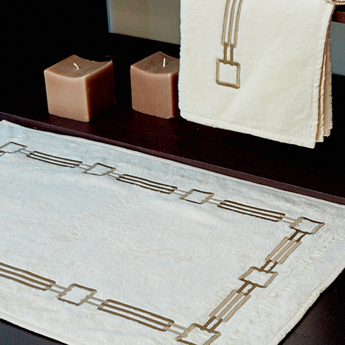 Retrò Bath Mat by Signoria Firenze - Maisonette Shop