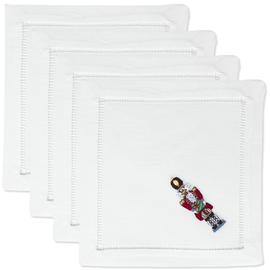Nutcracker Cocktail Napkins Set