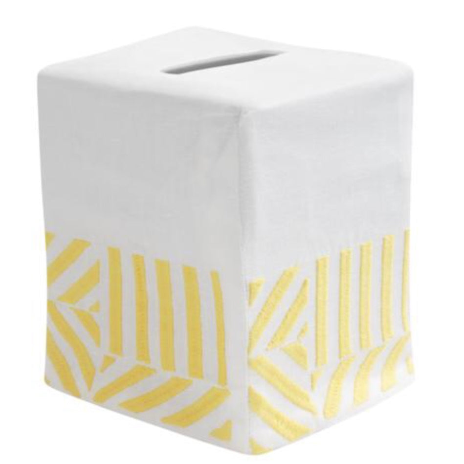 Cabana Stripe Tissue Box Cover