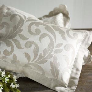 Grande Jasmine by The Purists Decorative Tie Pillows - Maisonette Shop