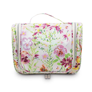 Morning Bloom Essential Hanging Cosmetic Bag - Maisonette Shop