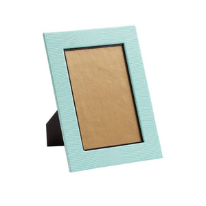 Robbin's Egg Blue Lizard Picture Frames