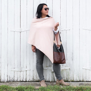 Organic Cotton Travel Poncho - Maisonette Shop