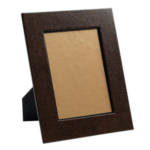 Brown Snakeskin Picture Frames