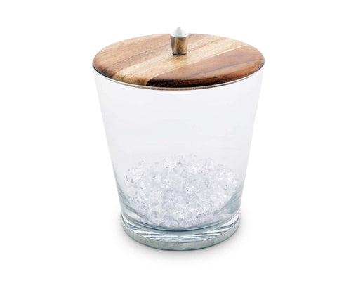 Tribeca Glass Ice Bucket - Maisonette Shop