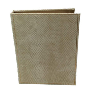 Snakeskin Address Books and Refill Pages - Maisonette Shop