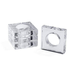 Acrylic Napkin Rings - Maisonette Shop