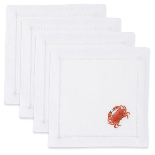 Crab Cocktail Napkins Set - Maisonette Shop