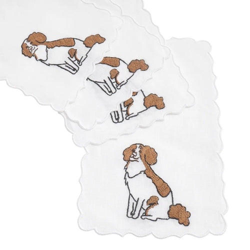 Cocker Spaniel Cocktail Napkin Set