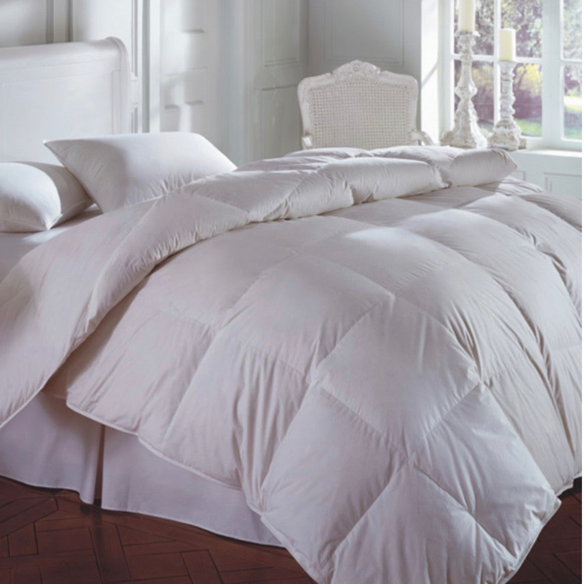 Cascada Peak 600 Fill White Down Comforter - Maisonette Shop