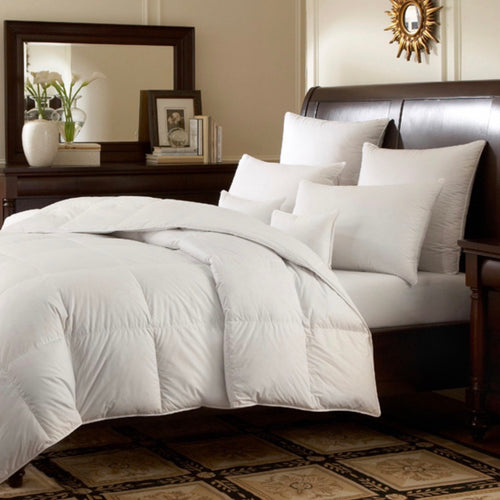 Logana 800 Fill Power White Goose Down Batiste Comforter - Maisonette Shop