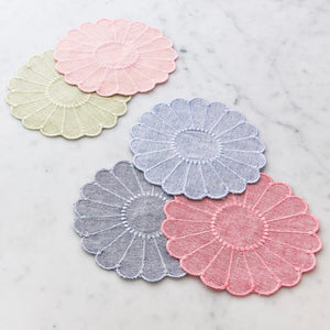 Gerber Flower Cocktail Napkin Set