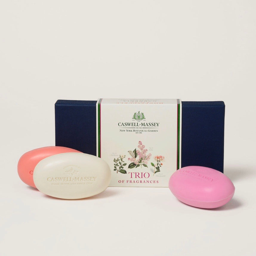 New York Botanical Garden Floral Trio Soaps - Maisonette Shop