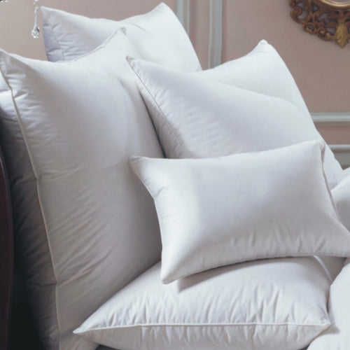Bernina 650 Fill Power White Goose Down European Pillow - Maisonette Shop