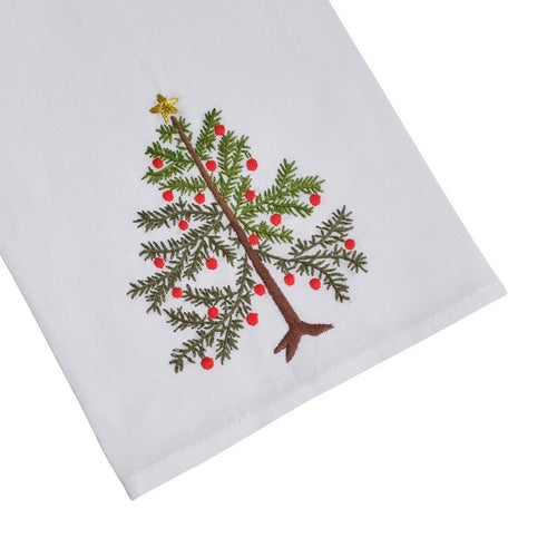 Christmas Tree Hand Towels