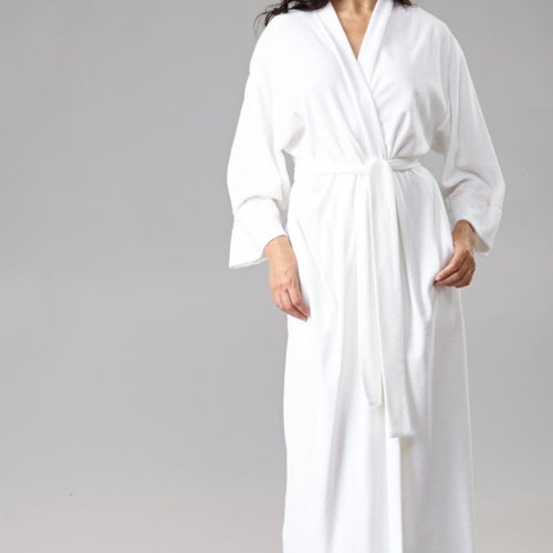 Long Kimono Terry Cloth Robe - Maisonette Shop