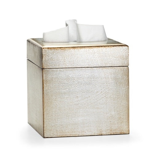 Classico Silver Tissue Cover - Maisonette Shop