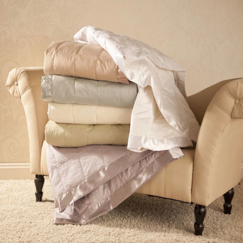 White Goose Down Blankets - Maisonette Shop