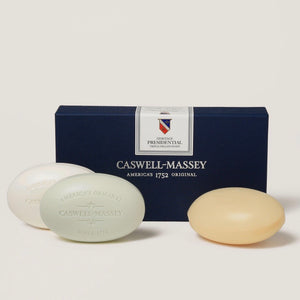 Heritage Presidential Three Bar Soap Set - Maisonette Shop