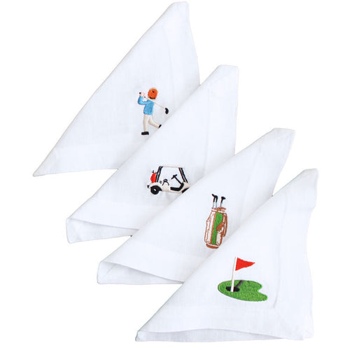 Hole in One Cocktail Napkins - Maisonette Shop