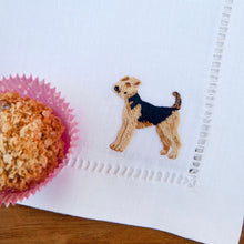Load image into Gallery viewer, Hand Embroidered Dogs Placemat Set - Maisonette Shop