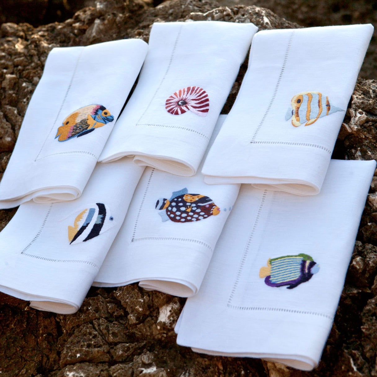 Pesce Napkin Set - Maisonette Shop