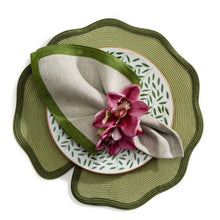 Load image into Gallery viewer, Lotus Shape Braided Placemat - Maisonette Shop