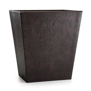 Conda Brown Wastebasket - Maisonette Shop